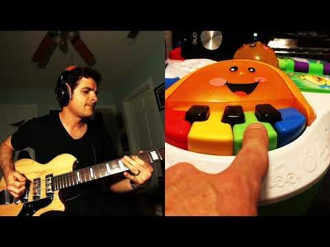 """Green Green Yellow Blue"" - Baritone Funk Kids Toys Edition"
