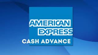 AMEX: The Cash Advance Feature - YouTube