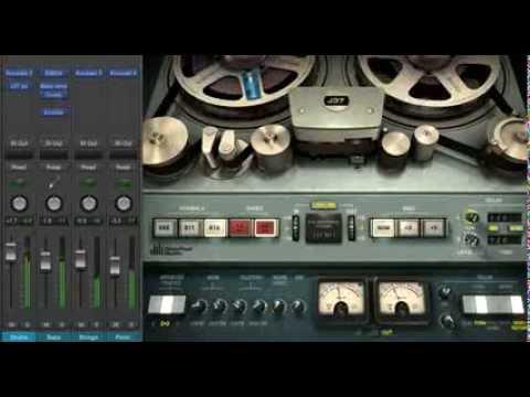 WAVES J37 (Studer) plug-in (Logic Pro X) - short overview