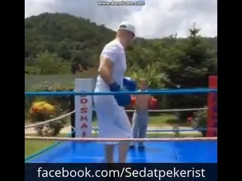 Sayın Sedat Peker ve Boğaçhan Talha Boks Antremanı