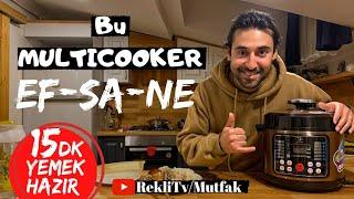 Çok Amaçlı Pişirici | Efsane Tavuk Pilav