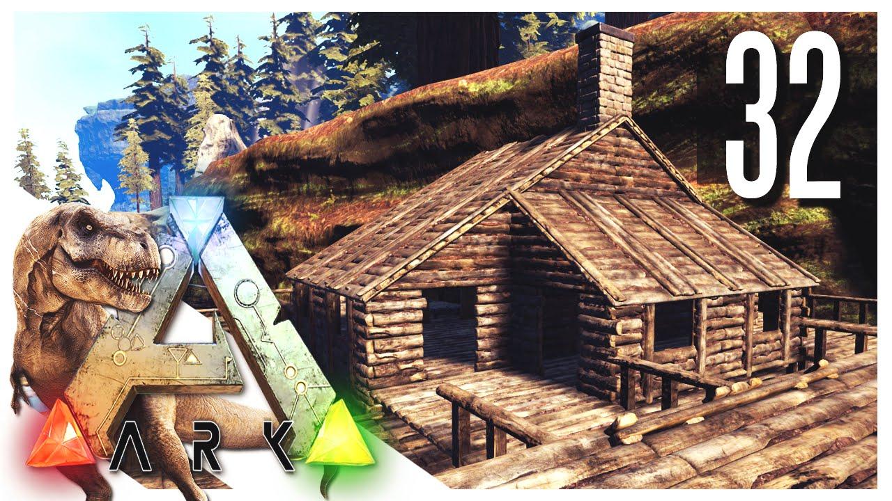 Ark survival evolved fishing cabin s2e32 ark gameplay for Survival fishing games