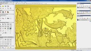 Вставка карты высот в ArtCam