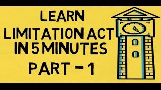 Shortcut tricks Learn Limitation Act (5 minutes)