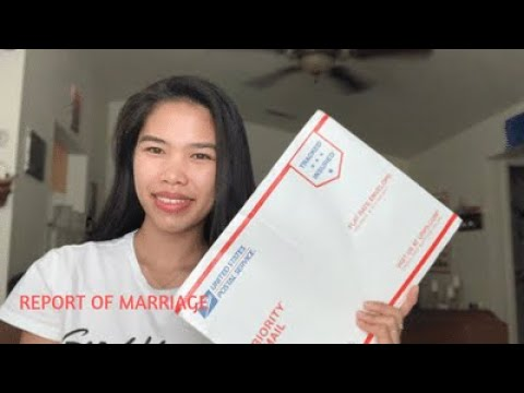 Report Of Marriage Requirements And How To Mail It To Philippine Consulate General In San Francisco