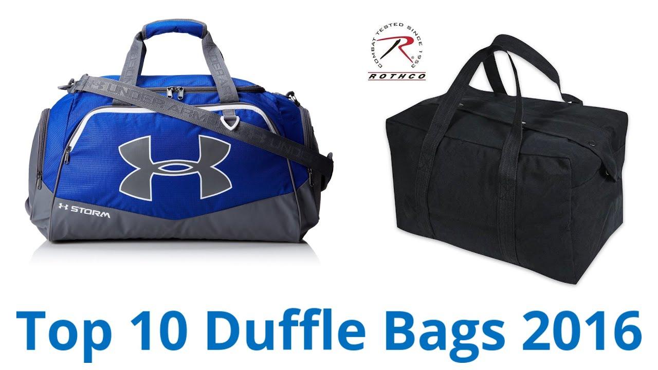 10 Best Duffle Bags 2016