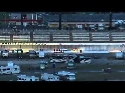 2013 WinStar World Casino 400 - Chad Hackenbracht Crash