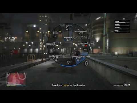 GTA V Online: First Person Supply Run & Mini MC Tutorial