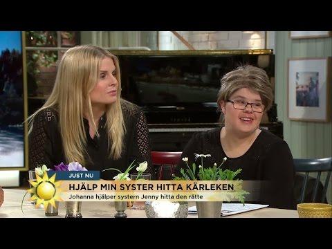 Hon hjälpte sin syster med Downs syndrom att hitta kärleken - Nyhetsmorgon (TV4)