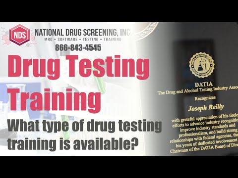 Drug & Alcohol Testing Industry Training and Consulting