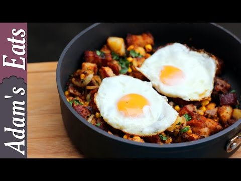 Roast Pork Hash | How To Use Up Leftovers