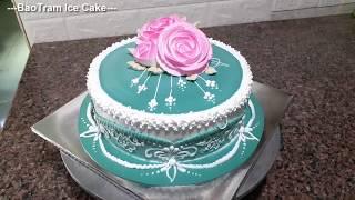 Decorate Beautiful Pattern Cream Cakes (62) Trang trí bánh kem hoa văn đẹp