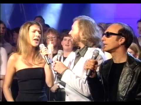 Immortality - Celine Dion & Bee Gees LIVE ** Awesome Quality**   @TOTP 1998