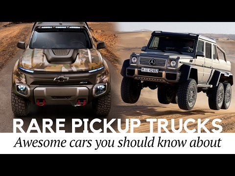 5 Awesome Pickup Trucks You Never Knew Existed (Best Concept Car Edition #1)