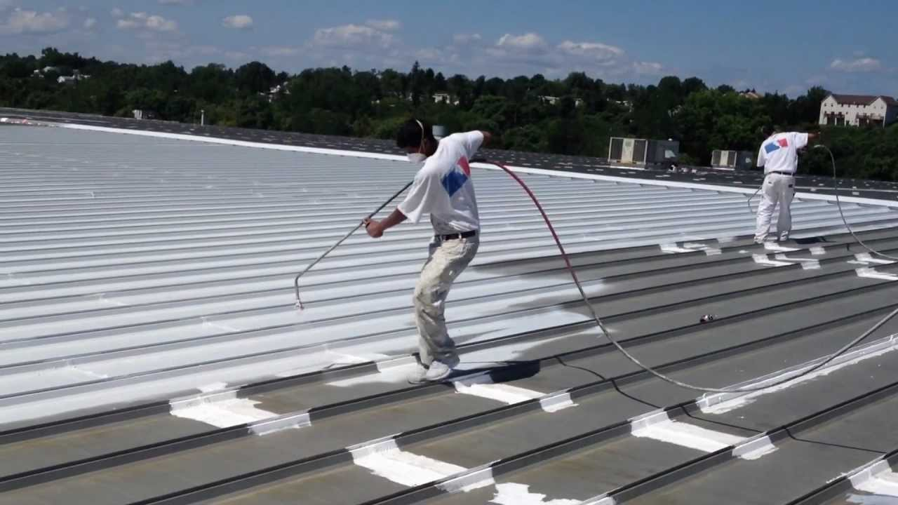 Elastomeric Roof Coating Harrisburg Pa Youtube