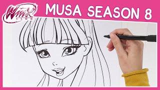 Winx Club - Season 8 - How to Draw Musa [TUTORIAL]