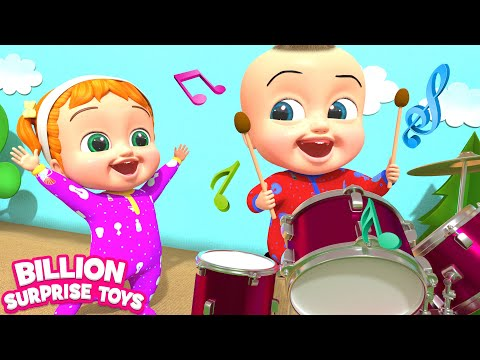 The Music Man   Kids Songs   Billion Surprise Toys