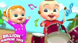 The Music Man | Kids Songs | Billion Surprise Toys