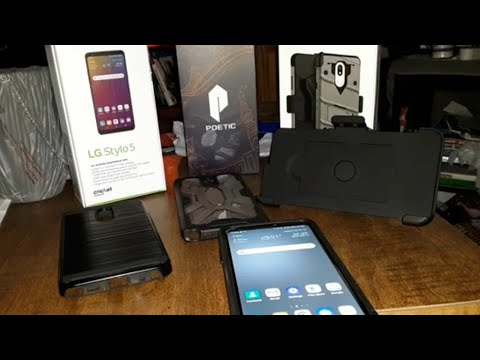 """LG Stylo 5 """"Favorite Cases"""" Review/Channel Updates 12-6-19"""