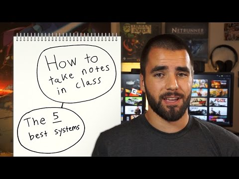 How to Take Notes in Class: The 5 Best Methods - College Info Geek