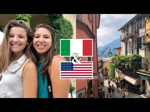 HER FIRST TIME IN ITALY!!