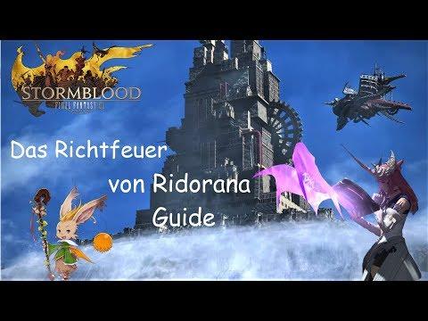FFXIV - Richtfeuer von Ridorana - Guide