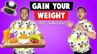 GAIN YOUR WEIGHT FOOD CHALLENGE | Street Food Challenge | Eating Competition | Viwa Food World
