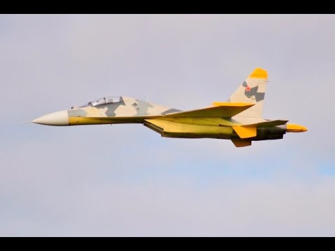 "GIANT 1/6 SCALE RC CARF SUKHOI SU-27 ""FLANKER"" - TWIN TURBINE COLD WAR FIGHTER # 2 - 2017"