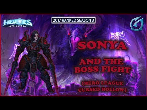 Grubby | Heroes of the Storm - Sonya and The Boss Fight - HL 2017 S3 - Cursed Hollow