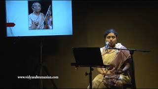 Lec-dem: Carnatic Music Theory and Practice - Bridging the gap Part 1