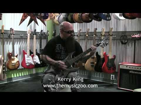 Kerry King Of Slayer Playing In Store At The Music Zoo Part 1