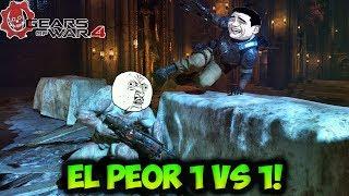 EL PEOR 1 VS 1!!! MOMENTOS DIVERTIDOS (Funny Moments) | GEARS OF WAR 4 - PACO TORREAR
