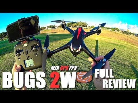 MJX BUGS 2W - Full Review - [Unboxing, Inspection, Flight Test, Pros & Cons] + GIVEAWAY News!