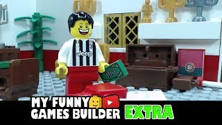 Cristiano Ronaldo Juventus or Real Madrid • CR7 Juve in Lego Stop Motion