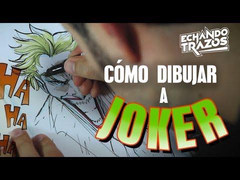 11 Como Dibujar A Joker Como Dibujar Al Guason
