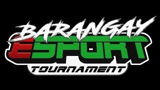 Brgy. San Francisco - SK - E-Sports 2019 - MOBILE LEGENDS