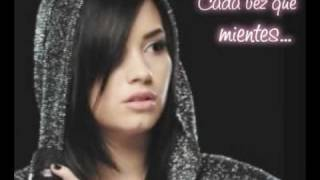 Demi Lovato - Everytime you lie (Traducida al Español)