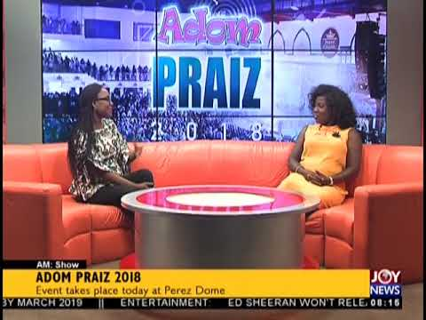 One-on-One With Diana Hamilton Before Adom Praiz 2018 - AM Show on JoyNews (31-8-18)