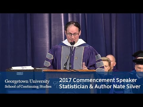 2017 Georgetown Commencement Speaker Nate Silver