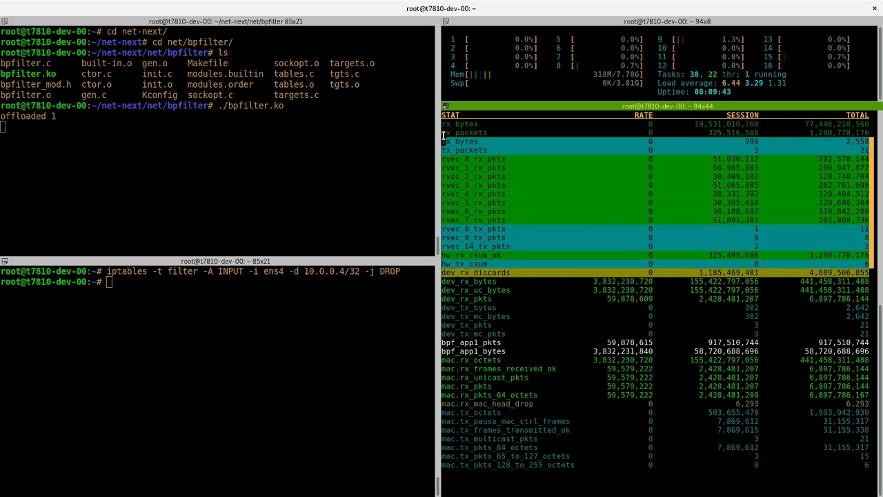 Using Bpfilter on SmartNICs to Accelerate Iptables Performance
