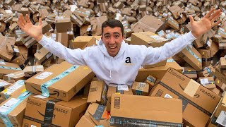 Fake Delivery Man Drops 1000 Amazon Packages At Stranger's Doorstep!
