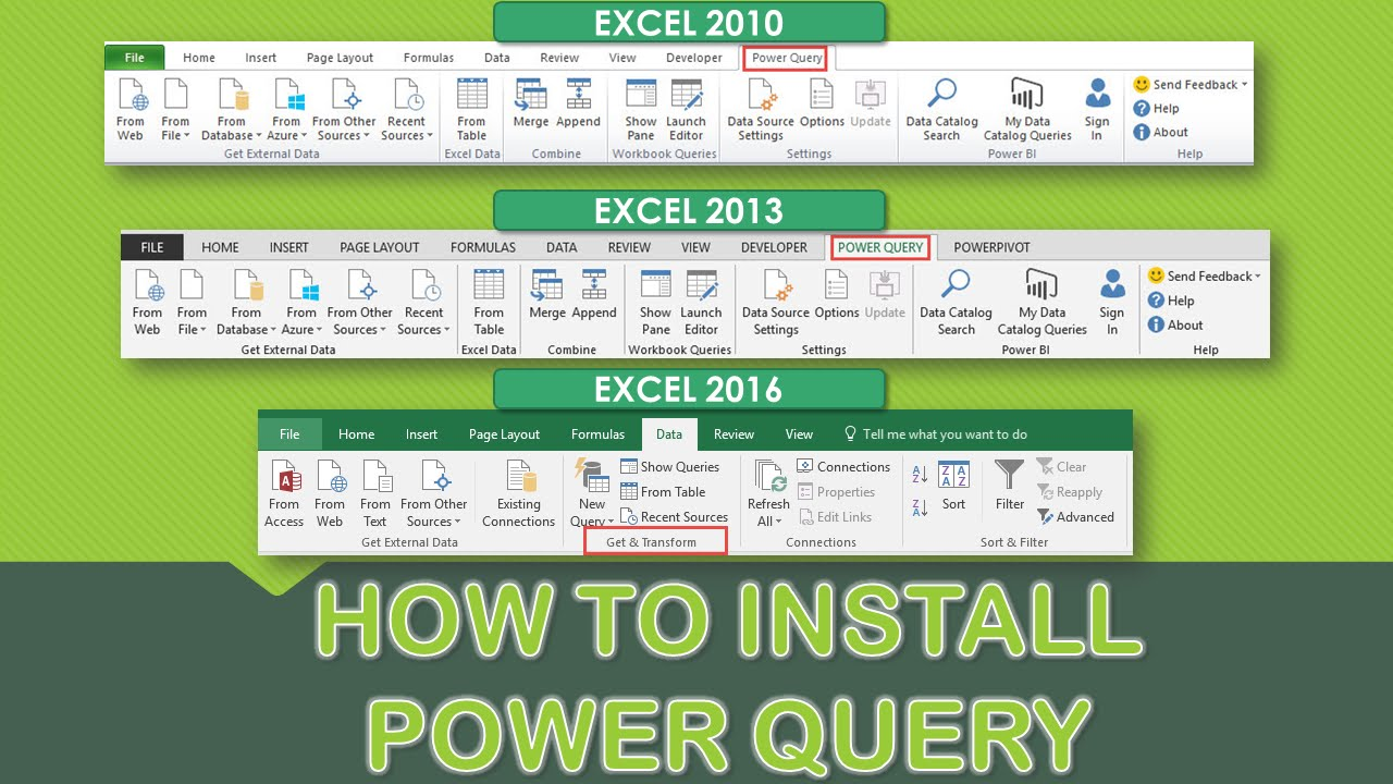 power query excel 2010 64 bit download