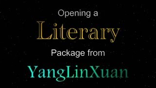 Opening a Literary Package from YangLinXuan