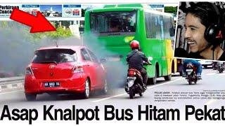Bus Ini Tidak Lulus 'Uji Emisi' Wkwkwk !!!
