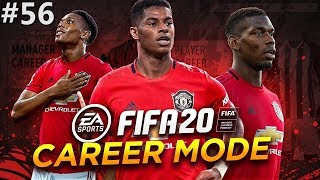 CHAMPIONS LEAGUE SEMI FINAL VS REAL MADRID | FIFA 20 Manchester United Career Mode EP56