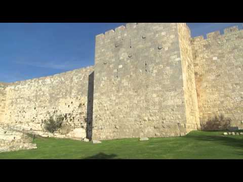 Who built the Western Wall of the Old City of Jerusalem?