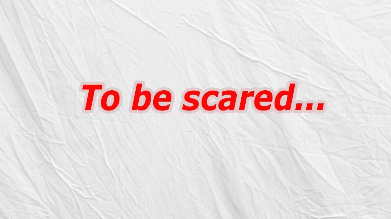 φόβος και διασκέδαση