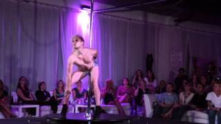 Steven Retchless Pole Dancing at the Florida Pole Fitness Championship