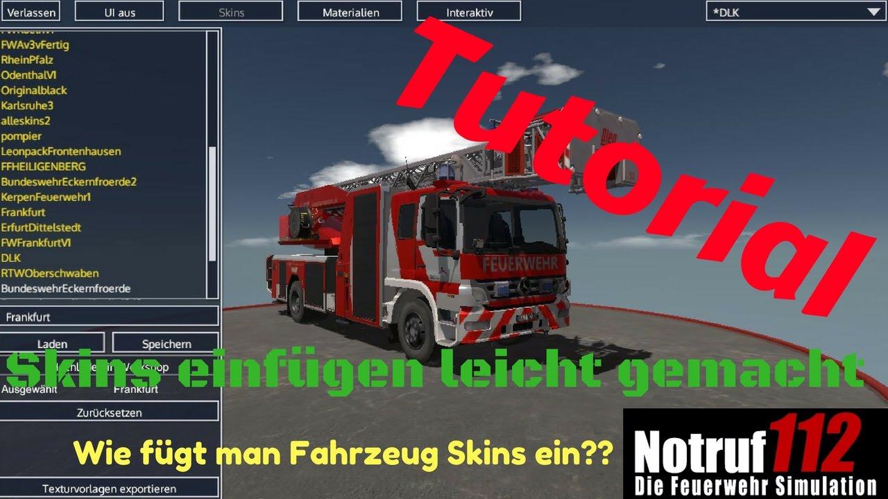Notruf 112 Skins