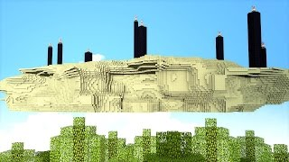 Minecraft : FINALMENTE A ILHA VOADORA  !! - ARK CRAFT SURVIVAL #16